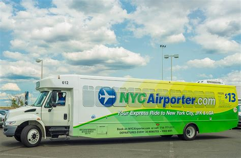 Airporter Shuttle by Nyc Airporter Shuttle Jfk Laguardia Airports Autos Post