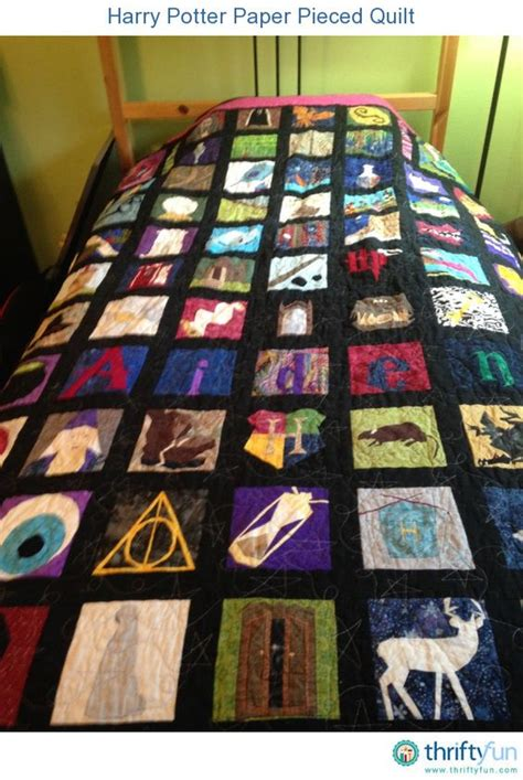 Harry Potter Quilt Blocks by Harry Potter Paper Pieced Quilt Harry Potter Quilt