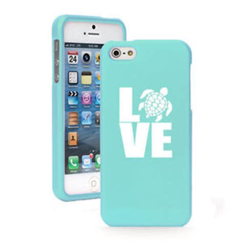 Iphone 4 4s Nike Sea Hardcas for iphone 4 4s 5 5s 5c light blue rubberized cover sea turtle