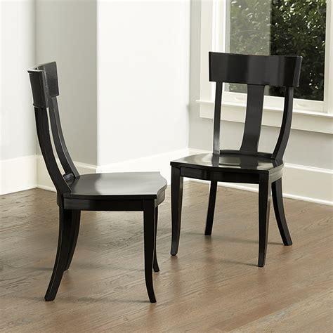 ballard dining chairs arletta klismos dining chairs set of 2 ballard designs