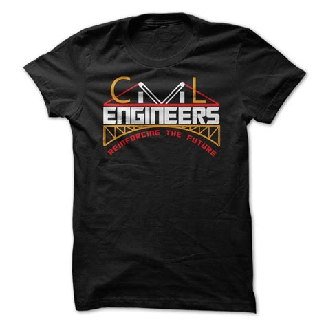 Logo Baju Engineering civil engineers ộ ộ reinforcing the future cat this is a special t shirt designed for