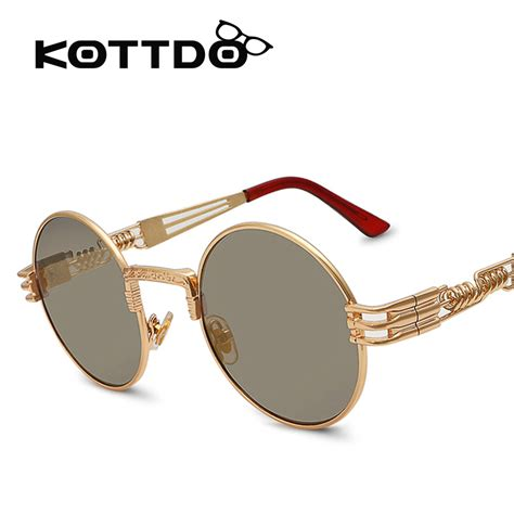 kottdo 2016 sunglasses luxury lens steunk