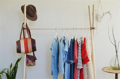 Make Clothes Rack by Diy Clothing Rack A Beautiful Mess