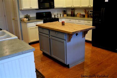 the kitchen island saga