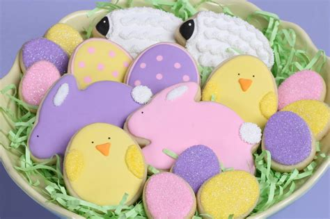 decorated easter cookies easter cookies how to glorious treats