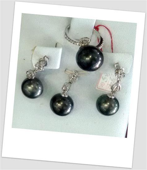 Perhiasan Set Gold Mutiara Manik mulia 0055 south sea pearl necklace price pearl