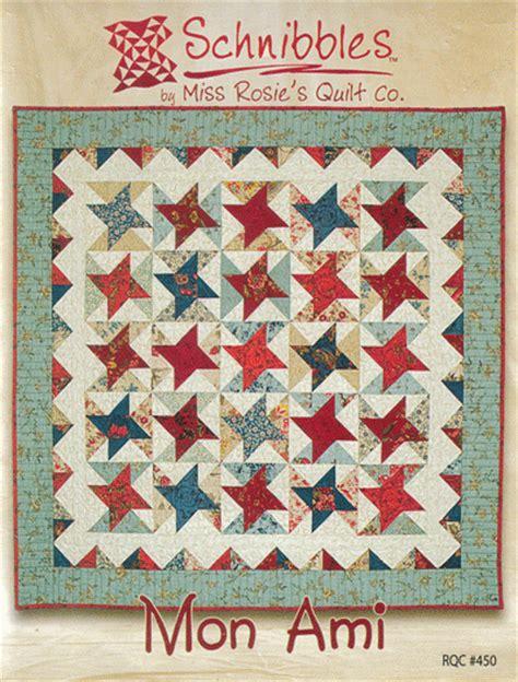 Mon Ami Quilt Pattern mon ami quilt pattern by miss rosie s quilt co