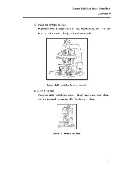 Mesin Bor Radial mesin freis