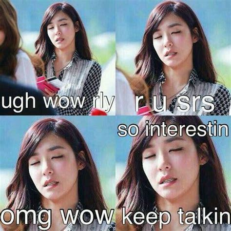 Snsd Memes - snsd tiffany meme ugh wow rly snsd funny pinterest