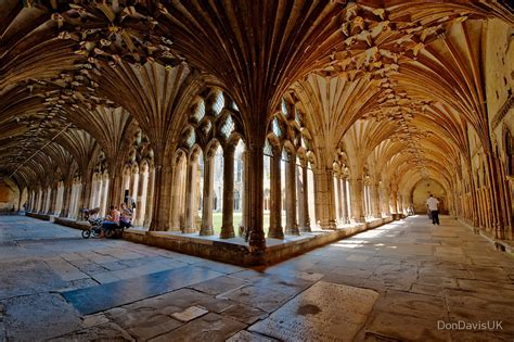 Uk Duvet Covers Quot The Cloisters Canterbury Cathedral Quot By Dondavisuk