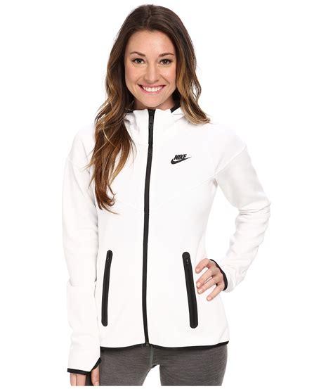 Zipper Hoodie Blasterjaxx 3 nike tech fleece zip hoodie in white lyst