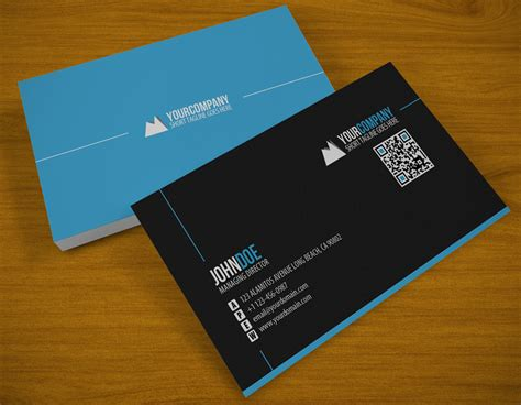 photo business cards clean qr business card by samiyilmaz on deviantart