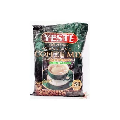 Coffeemix Sachet yeste 3 in 1 coffee mix