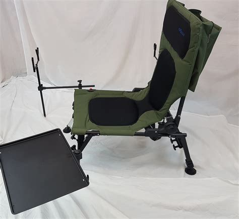 fishing rod table l bison delux carp chair fishing station rod pod bivvy