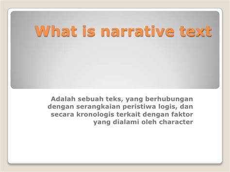 membuat narrative narrative teks