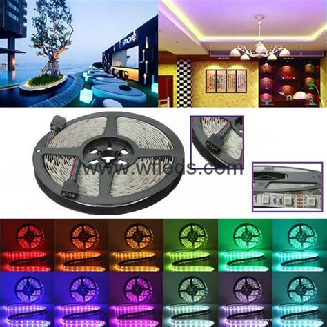 Promo Led 5050 Ip33 12v Indoor Biru Blue Ip 33 12 V High Quali bright 5050 led lights rope light blue 12v 5050 light wf 5050 60leds