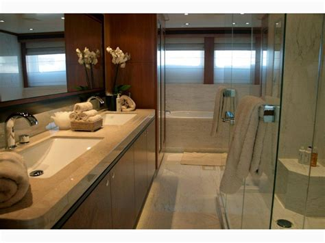 San Bernardo Master Bathroom Luxury Yacht Browser By Charter Bathroom