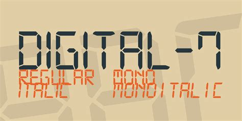 lato font family free digital downloads digital 7 font family 183 1001 fonts