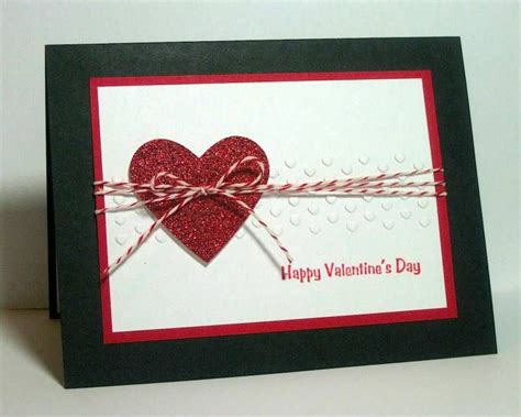 Handmade Valentines Cards - handmade card sparkly by dpetersen