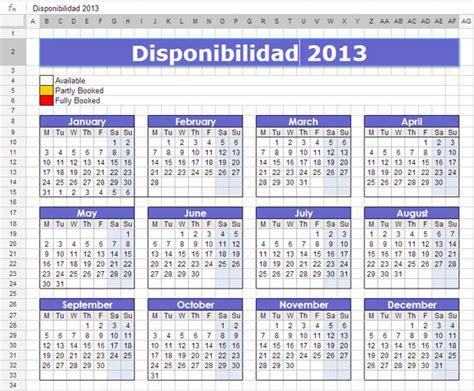 Calendario Empresa Calendarios Para Descargar Y Organizar Las Vacaciones De
