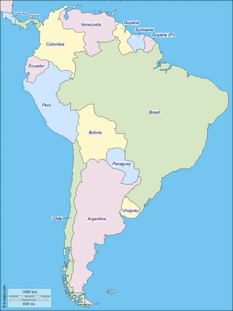 america map facts map of south america facts information beautiful