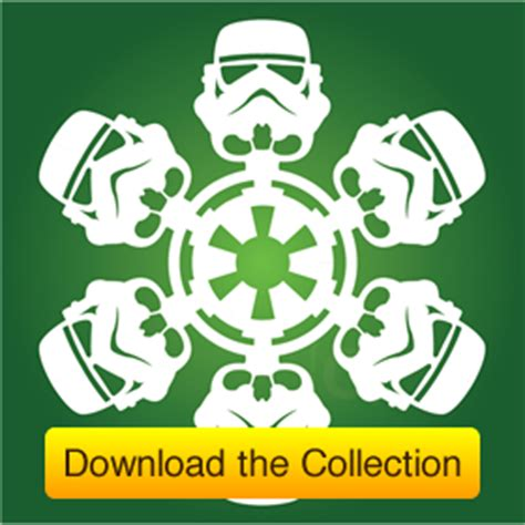 printable star wars christmas decorations diy star wars snowflakes matters of grey