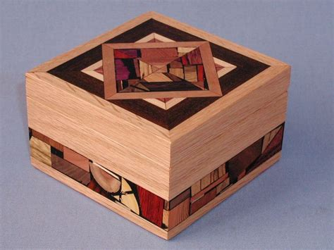 How To Make Handmade Boxes - mosaic jewelry box things i like in wood