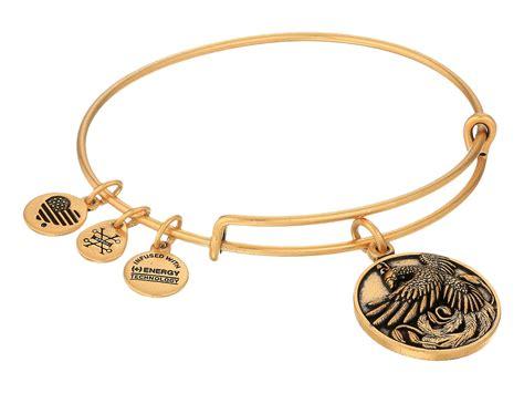 alex and ani bracelet in metallic lyst