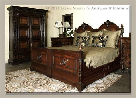 antique beds bedrooms historical origins antiques in