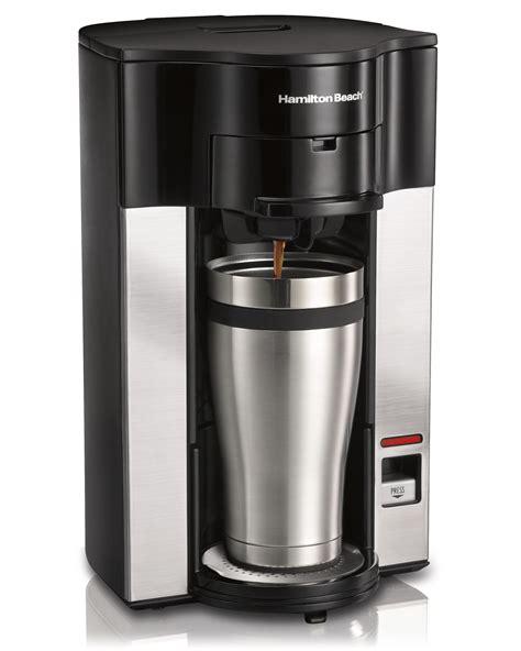 hamilton beach 1cup coffee maker brewer w 8 senseo pod