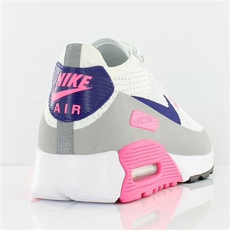 Nike Air Max 90 Flyknit Pinkblack P 1229 by Nike W Air Max 90 Ultra 2 0 Flyknit White Concord Laser