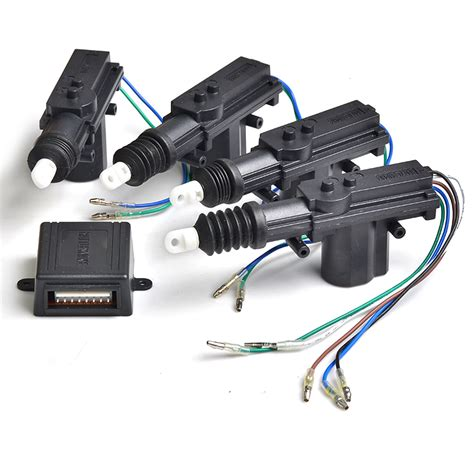 Cental Lock System Security car central locking system car door lock actuator remote for car door lock dc 12v power