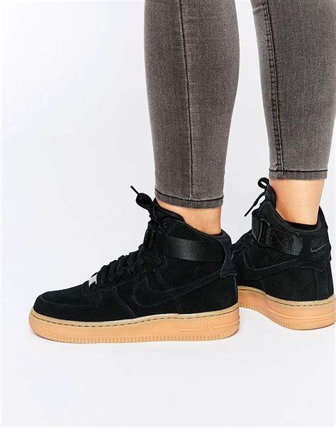 Nike Slip On Black Kode Ss6127 1 nike nike air 1 07 suede black trainers at asos