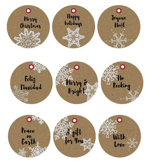 printable kraft paper tags search results for free printable gift tags for christmas