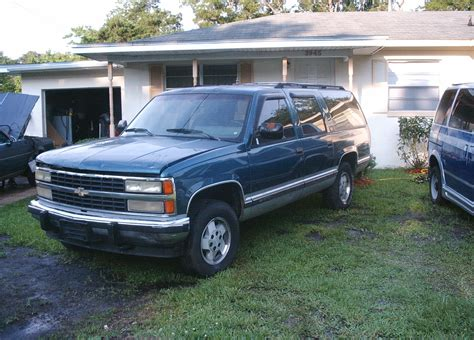 service manual how to fix cars 1994 chevrolet suburban