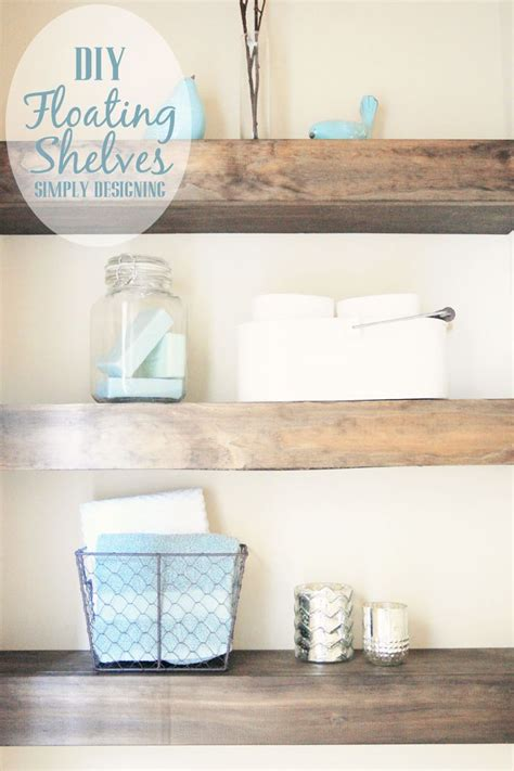Building Bathroom Shelves 17 Best Images About Craft Corner On Diy Wall The Cottage And Diy Kitchen Ideas