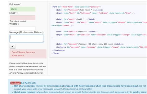 parsley pattern js 40 amazing jquery plugins for 2013