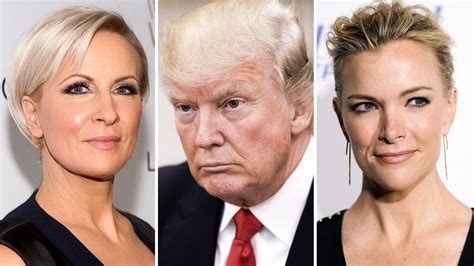 Mika Brzezinski With Megyn Kelly | a timeline of trump s attacks on women s appearances