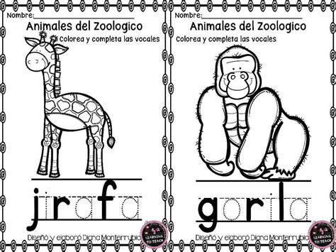 imagenes de animales del zoologico para preescolar actividades animales de zoologico 10 imagenes educativas