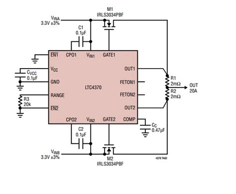 diode or current balancing controller diode or current balancing controller 28 images ltc4353 dual low voltage ideal diode