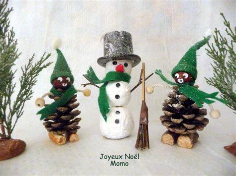 Decoration Pere Noel A Faire Soi Meme by Deco De Noel Avec Des Pommes De Pin
