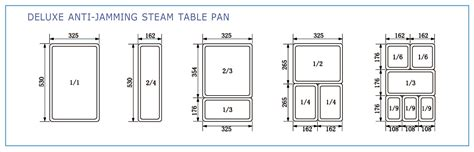 size steam table pan stainless steel steam table pans