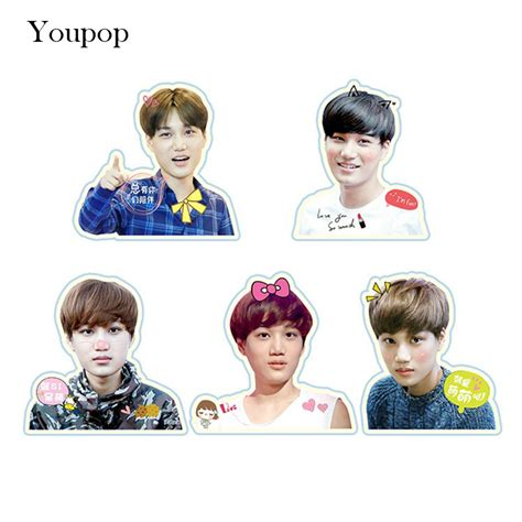 Exo Chanyeol Cheeks Sticker compare prices on kpop stickers shopping buy low price kpop stickers at factory price