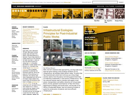 design observer architecture sources of inspiration noupe
