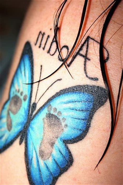 baby footprint butterfly tattoo the world s catalog of ideas
