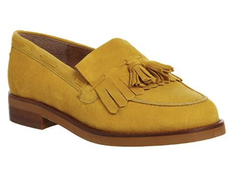 yellow loafers office extravaganza loafers in yellow lyst