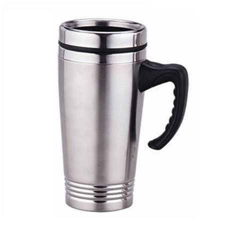 coffee mug handle new 16oz stainless steel coffee cup with handle insulated