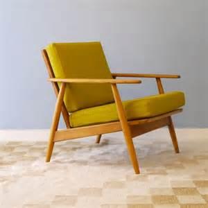 fauteuil design vintage jaune la retro