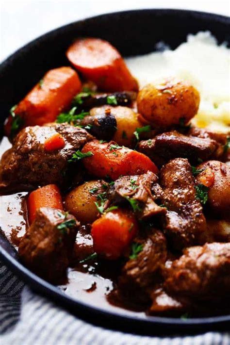 slow cooker beef bourguignon the recipe critic bloglovin