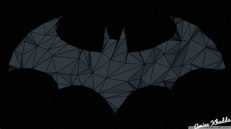 wallpaper batman low poly batman 1080p wallpaper wallpapersafari
